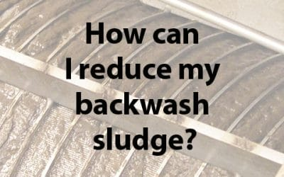 Reducing Backwash Sludge